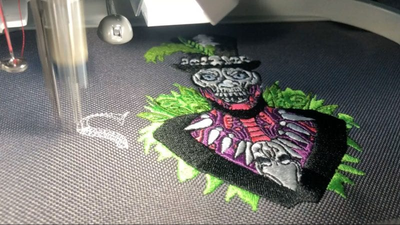Sk8 or Die Baron Embroidery