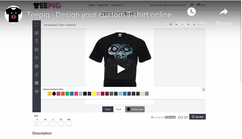 How to design a printed t-shirt