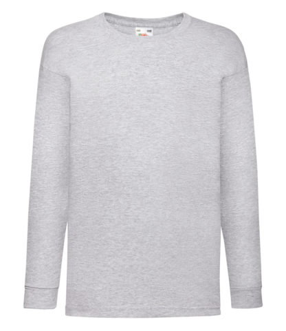 Kids long sleeve t-shirt for personalisation