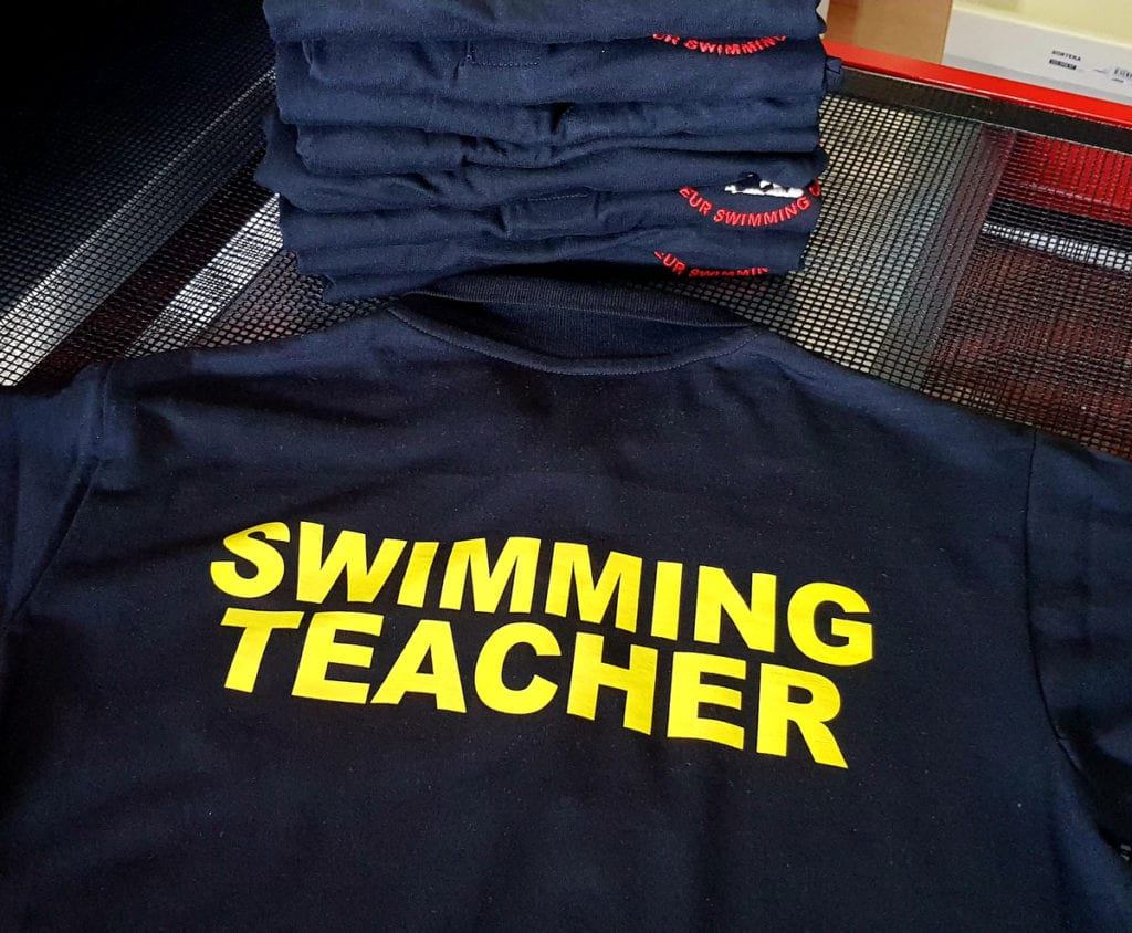 Portishead Swimming Teacher polo shirt