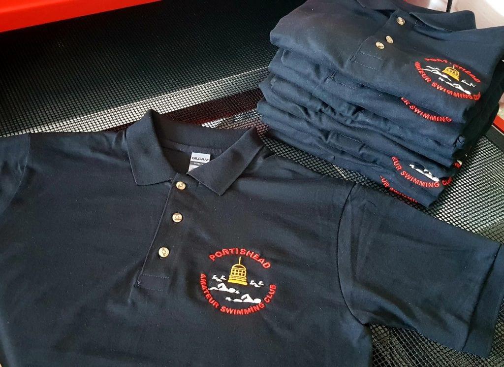 Swimming Club Polo Shirts